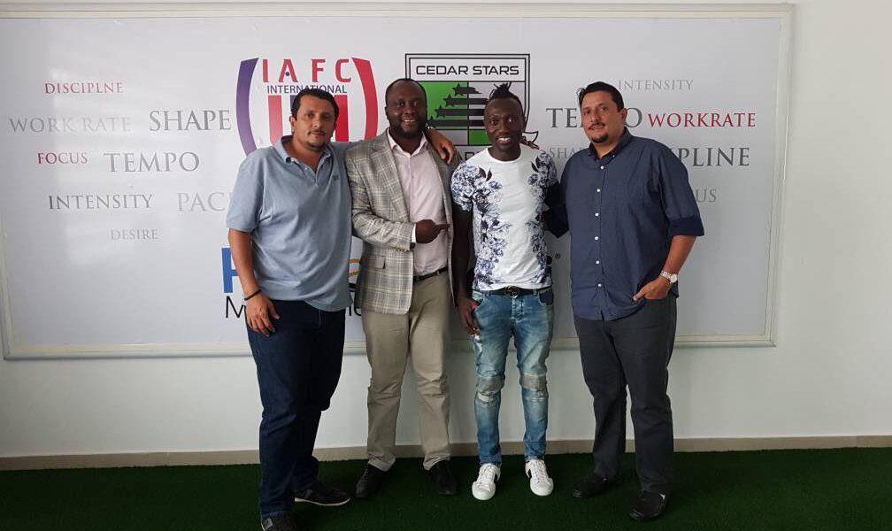 MLS star Dominic Oduro tours former Club Inter Allies
