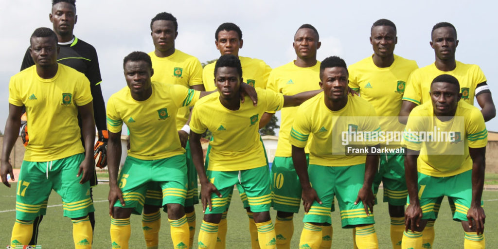 Ebusua Dwarfs fined for fans misconduct in GPL game against Inter Allies