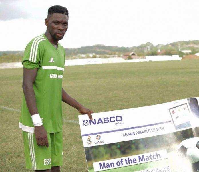 Elmina Sharks midfielder Farouk Mohammed joins Enyimba FC
