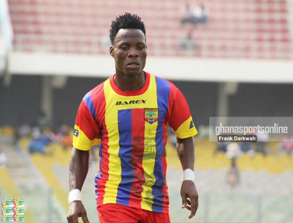 Hearts midfielder Samudeen Ibrahim unhappy with departures of key players