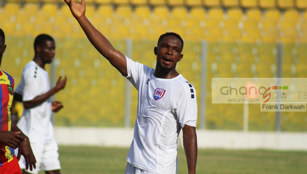 Inter-Allies defender Issahaku Zakari signs contract extension with club