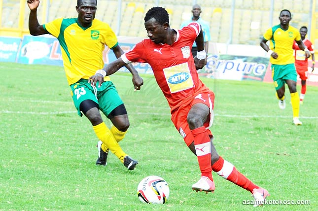 Jordan Opoku to reunite with Kumasi Asante Kotoko
