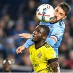 Jonathan Mensah hails David Villa as one of the best strikers in the World