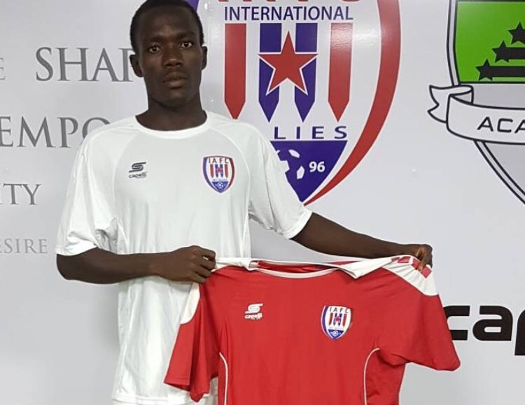 Inter Allies sign UniStar youngster Michel Otou