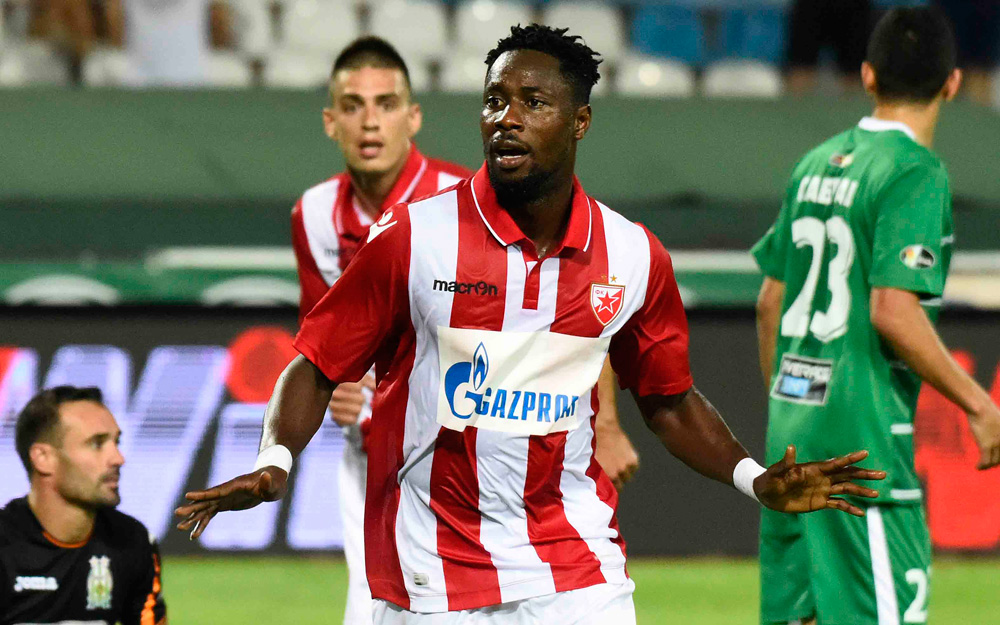Boakye Yiadom scores on his return to fitness