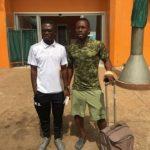 PHOTOS: Kotoko striker Saddick Adams discharged from hospital