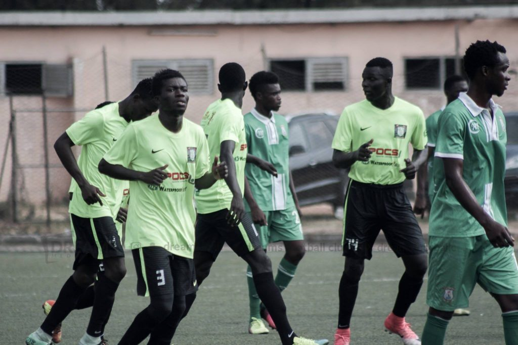 Red hot Sharani hits four as Dreams FC thrash Eastern Eaglets in Preseason