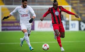 Ghanaian player Samuel Mensah wants to end 2017 on a high