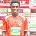 Kotoko rewards wonderkid Douglas Owusu Ansah with professional contract