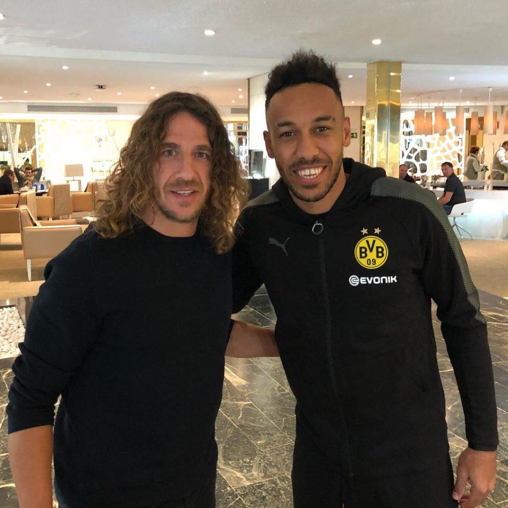 Dortmund forward Augbamayeng happy to have not played against Barcelona legend Carlos Puyol