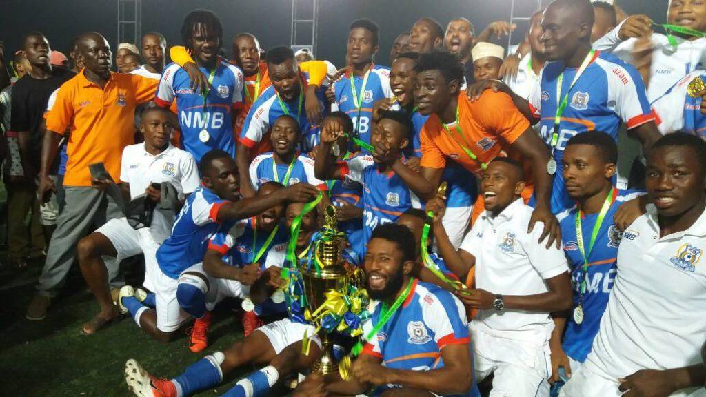 Ghanaian trio Razak Abalora, Atta Agyei and Bernard Arthur win Revolution Cup with Azam FC