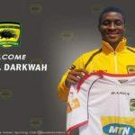 OFFICIAL: Daniel Darkwa completes move to Asante Kotoko