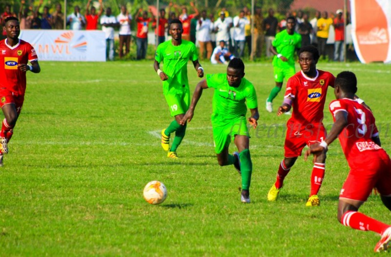 GHALCA G8: Dreams FC beat Kotoko in Kumasi in match day 2