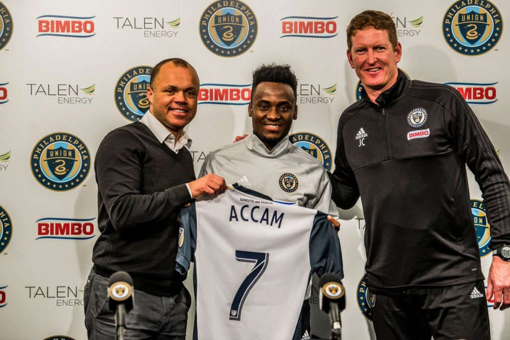 VIDEO: David Accam begins training with new club Philadelphia Union