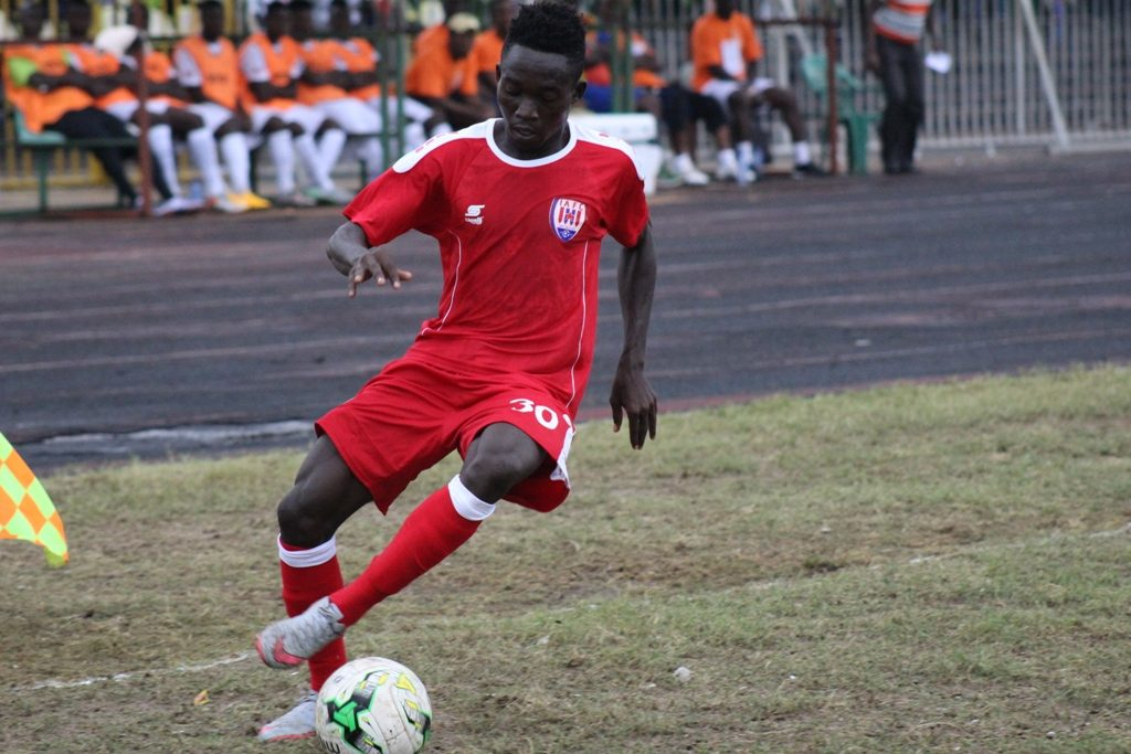 Winger Fredrick Yamoah returns to Inter Allies after loan in the USL