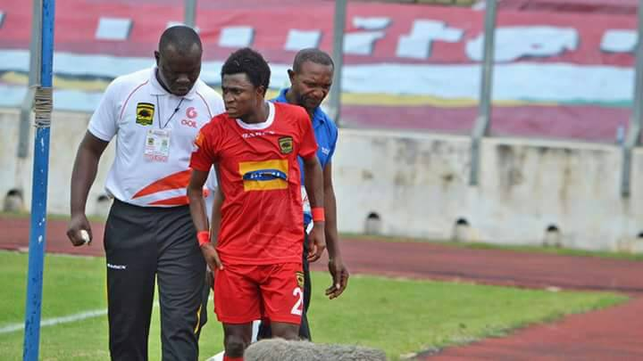 Kotoko winger Emmanuel Gyemfi to miss GHALCA G8 opener due to illness