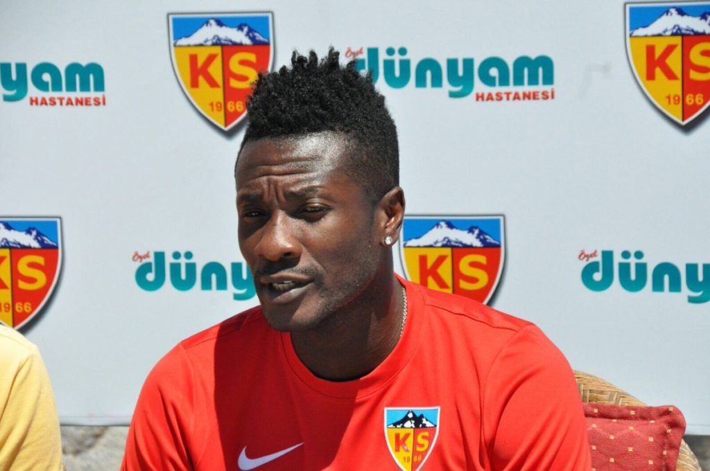 Ghana captain Asamoah Gyan named 2017 Most Influential Young Ghanaian in Sports