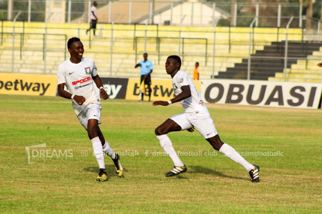 Dreams FC book G8 final place against Hearts of Oak