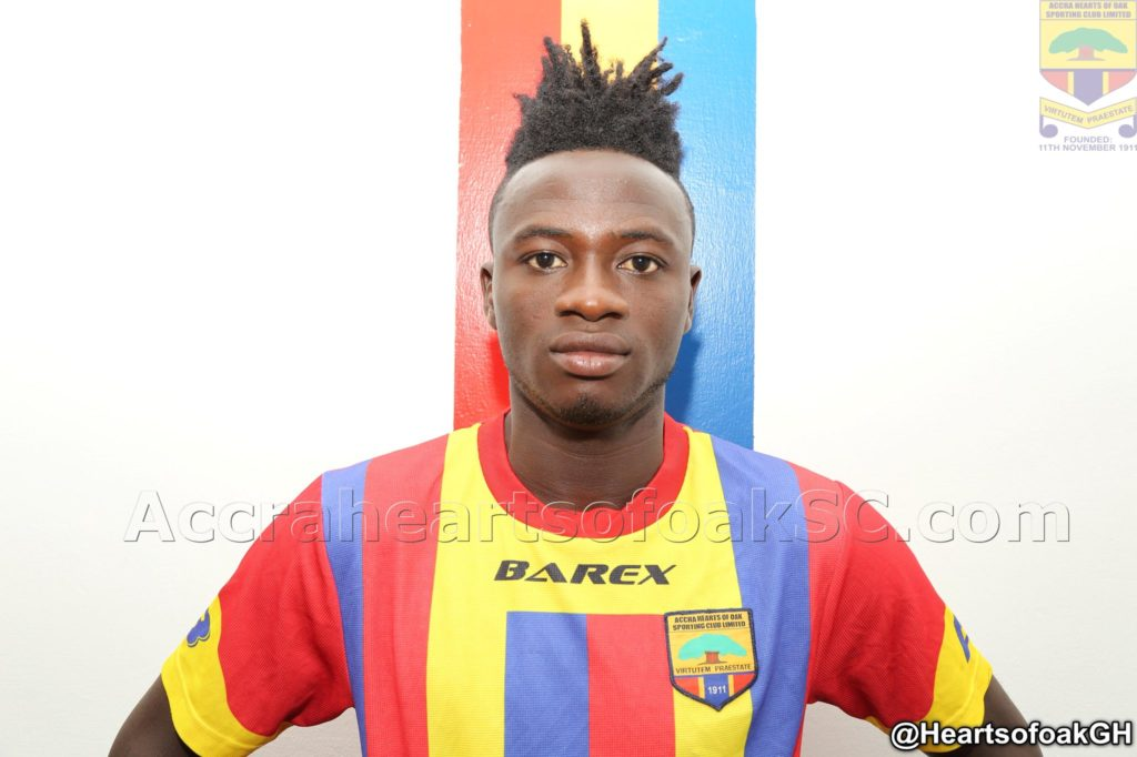 Defender Fatawu Mohammed extends contract with Accra Hearts of Oak