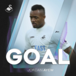Jordan Ayew got an assist and goal in Swansea's 3-1 win over Arsenal