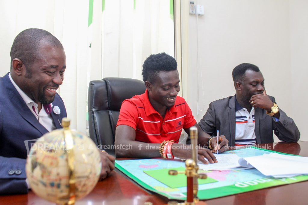 OFFICIAL: Dreams FC sign sought-after Kwadjo Asamoah