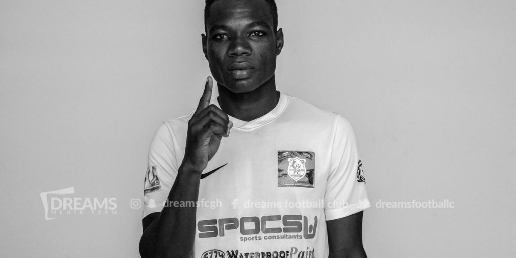 Dreams FC complete the signing of defender Masawudu Abdulai