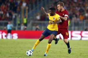 Thomas Partey eyes more game time at Atletico Madrid