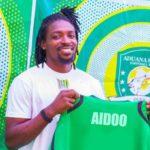 Aduana Stars unveil new signing Paul Aidoo