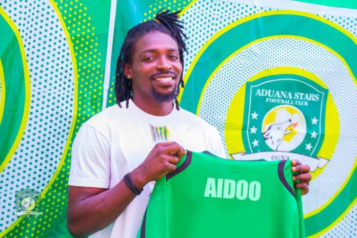 Aduana Stars unveil new signing Paul Aidoo