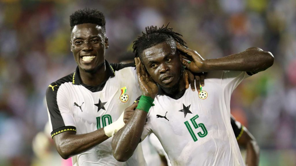 WAFU Stars Thomas Abbey, Stephen Sarfo and Amos Frimpong contend for SWAG local player of the year