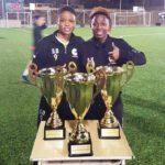Ghanaian duo Sandra Ansah and Alice Kusi win treble with Lebanese side Zouk Mosbeh FC