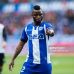 Mubarak Wakaso impresses for Deportivo Alaves in their 302 defeat to Barcelona