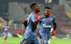 Boakye Yiadom scores as Red Star Belgrade progress in Champions League qualifier