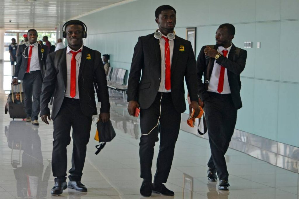 2018 CAF CONFED. CUP: Asante Kotoko arrives in Brazzaville [PICTURES]