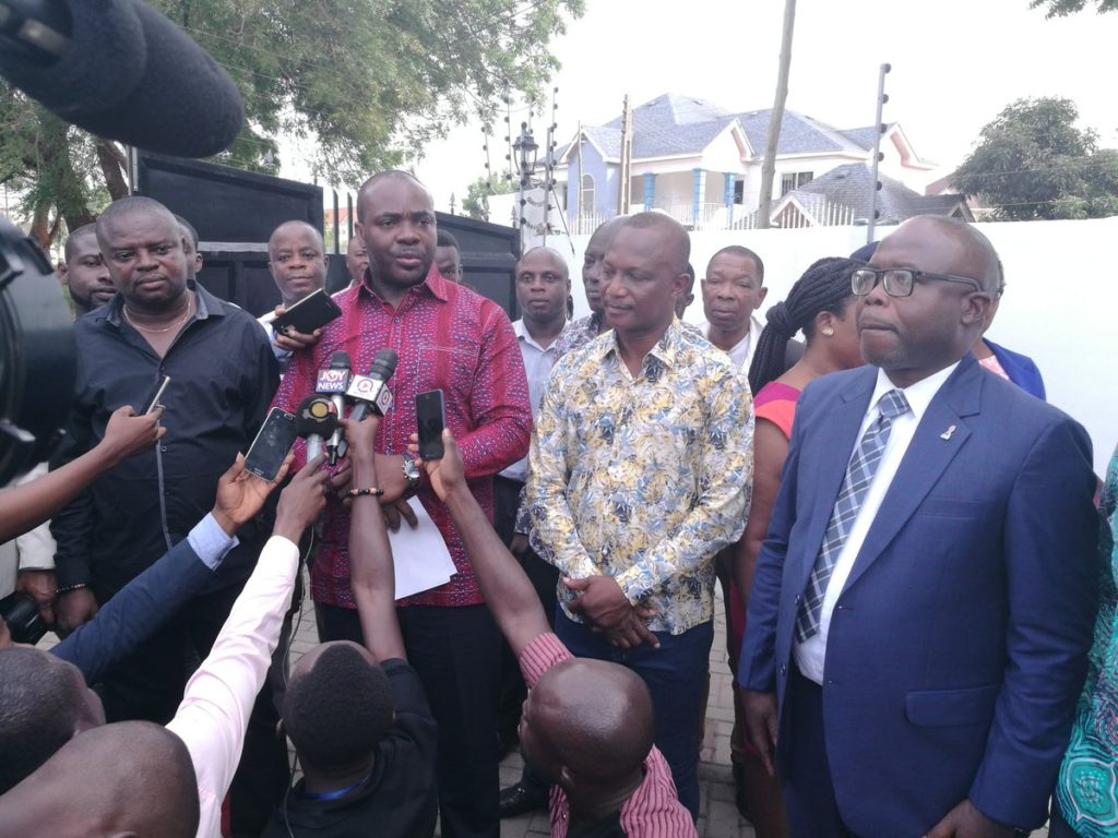 Sports Minister reveals how much was spent on Kwesi Appiah's 3-bedroom house