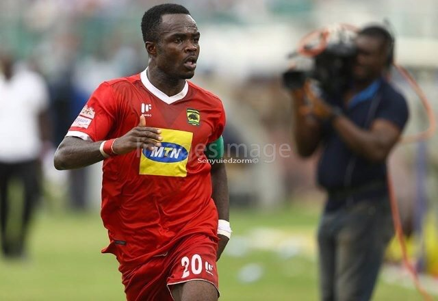 Kotoko skipper Amos Frimpong warns Black Stars ahead of friendly