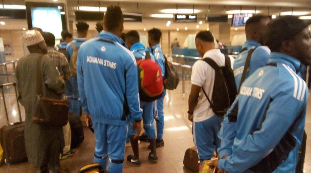 Aduana Stars arrive in Ghana after Al Tahaddy defeat