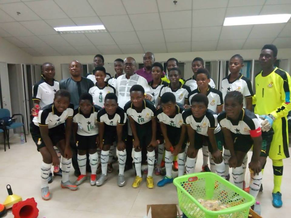 Djibouti Coach Fatouma Moussa confident Ghana will make an impact at the FIFA U-17 Women World Cup