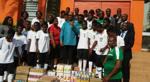 Ghana ambassador pays visit to Black Queens ahead of WAFU opener