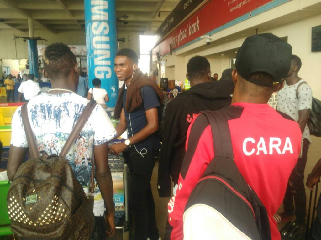 Asante Kotoko's opponents CARA arrive in Ghana for CAF Confederation Cup clash