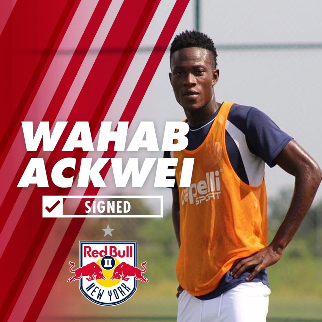 CONFIRMED: Wahab Ackwei joins New York Red Bulls