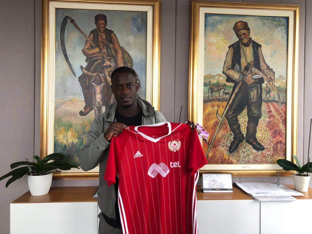 Ghana winger Edwin Gyasi joins CSKA Sofia in Bulgaria