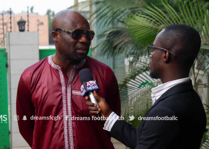 George Afriyie lauds Dreams FC's management