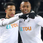 Jordan Ayew scores to send Swansea into FA Cup quarter finals for the first time since 1964