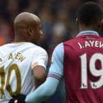 Video: Jordan Ayew welcomes BIG brother Andre Ayew to Swansea City