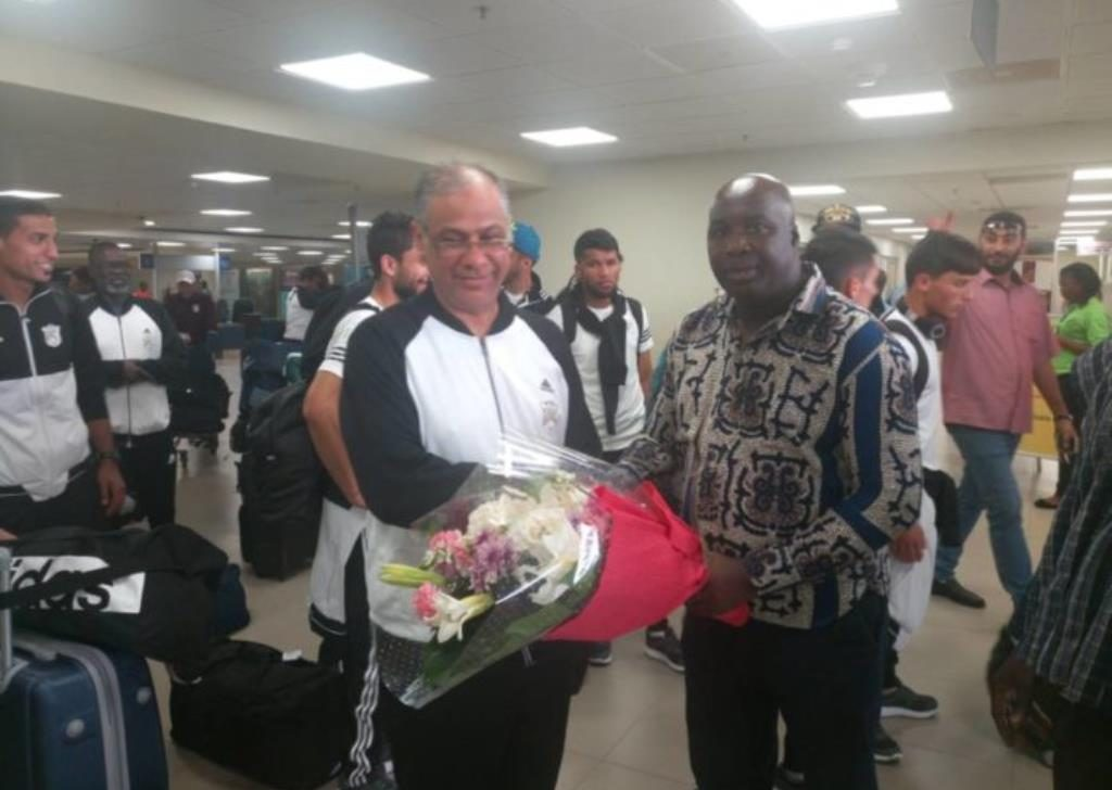 Al Tahaddy Prez. Khalid Kwafi thankful for Aduana's hospitality, hopes they win CAF CL
