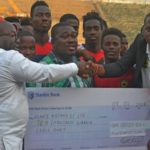 Kotoko fans make donation to team ahead of CARA Clash