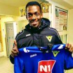 OFFICIAL: Former Dreams FC midfielder Manuel Eli Keke unveiled by Vikingur Olafsvik