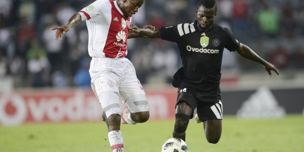 Ghana winger Bernard Morrison earns praises from Orlando Pirates Coach Mulitin Sredojevic