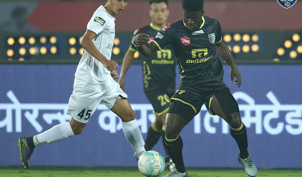 Ghana midfielder Courage Perkusson wins swift player Award in India